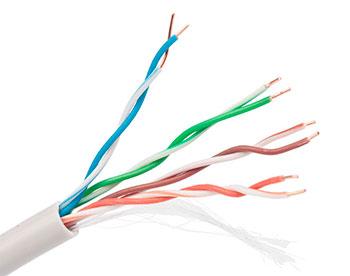 Витая пара utp кабель для систем видеонаблюдения