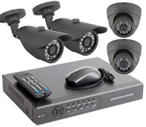 Комплект из 4 камер и регистратора