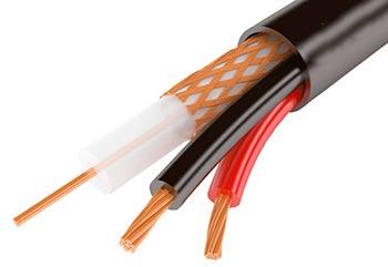 комбинированный кабель для систем наблюдения