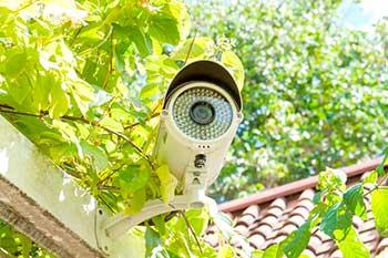 Расположение камеры видеонаблюдения