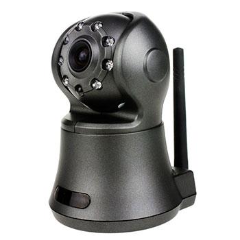 Поворотная ip видеокамера с ик подсветкой