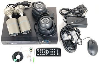 IPTRONIC - готовый комплект IP видеонаблюдения