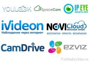 Сервисы для облачного видеонаблюдения