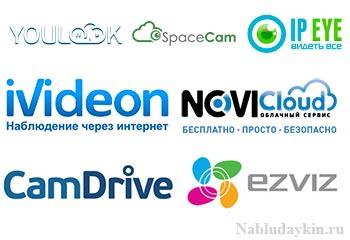 Многообразие облачных сервисов для камер наблюдения