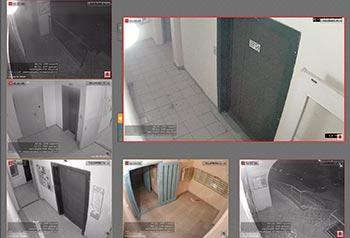Cистема видеонаблюдения в подъезде жилого дома
