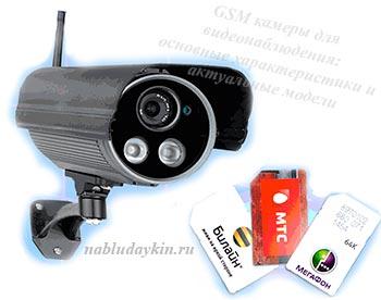 Камеры с GSM модулем