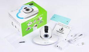 Облачная IP камера SpaceCam T1