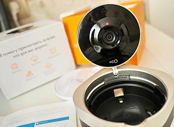IP камера для интернет видеонаблюдения ocO