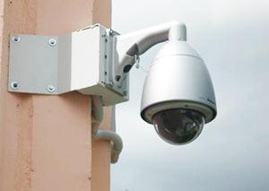 Купольная камера на улице