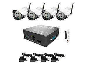 Беспроводные камеры и NVR