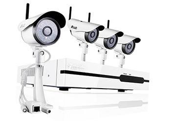 Комплект с беспроводными камерами