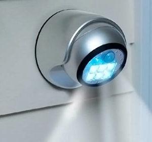 Светодиодный фонарик на стену
